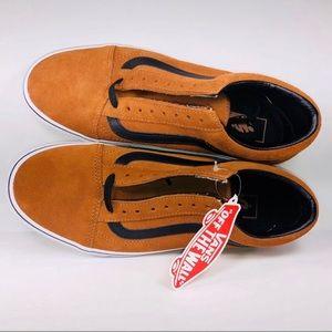 Vans Men's Suede Glazed Ginger/Black Old Skools